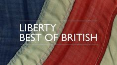 The Best of British Design Open Call at Liberty #flag #type #liberty #british