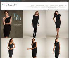 Ann Taylor on Web Design Served #fdgdfg