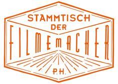 Logo for Stammtisch der Filmemacher | Design by Cohezion #letters