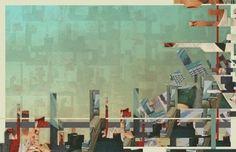 the portfolio and artwork of kyle mosher | KyleMosher.com #design #graphic #illustration #mixed #media #collage