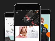 #mobile #web #serif #responsive