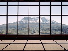 what a view #mountain #snow #wall #window #great #view #windows
