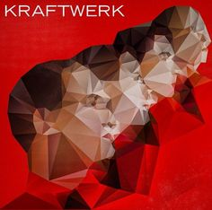 Kraftwerk on the Behance Network #music #cover #illustration