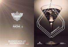 Buddy Holly Drinkskort #menu #cocktail #bar #drinks