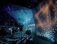 Dezeen » Blog Archive » Polish Pavilion for Shanghai Expo 2010 by WWAA Architects #interior #pattern #design #screen #light