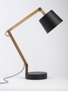 Black/Grey Angle Table Lamp 2.0 - Douglas + Bec #lamp