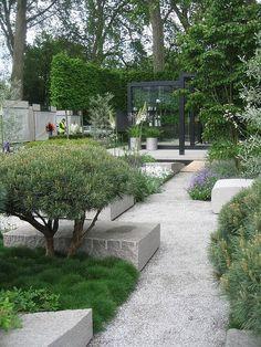 Modern Garden, lindo jardim moderno mesmo!!:
