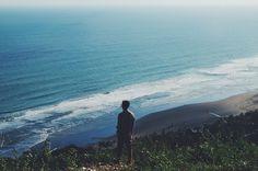 #java #indonesia #coast #ocean #sea #hill #panorama #nature #explore