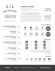 resume - icons? #web #resume