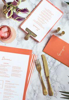 Georgie Restaurant Branding by Sandy Ley #menu #restaurant