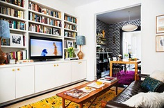 Brooklyn House Tour: Studio Four NYC Wallpaper   Apartment Therapy