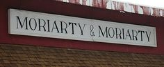 moriarty #signage #type #painted #hand