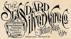 Standard Silver Ware Company | Sheaff : ephemera