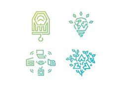 Dribbble - Principles of Fair Trade picto-illustrations set 2 by Wojtek Obuchowicz #wobuchowicz #neilan #wojtek #takze10 #obuchowicz