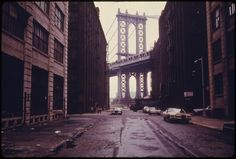 PHOTOS: Here Is What Brooklyn Was Like In The Summer Of 1974 - Business Insider #danny #lyon #manhattan #bridge #tower #brooklyn