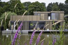 Floating House in Arnhem - InteriorZine #architecture #house #home