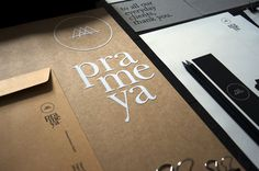 Prameya on Behance #design #identity #prameya