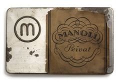 Zigarettendose 'Manoli Privat' - Pflegschaften @ Museum der Dinge #object