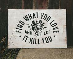 Killlove_sign #slogan #blackwhite #illustration #poster #typography