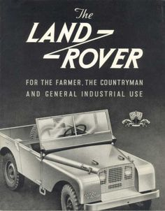 Rover | Album of Awesomeness #truck #rover #vintage #advertising