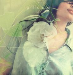 la floración ♥ #white #fairy #tale #rose #sacred #exposure #double #love #goddess