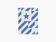 Honduras #stamp #graphic #maan #geometric #illustration #minimal #2014 #worldcup #brazil