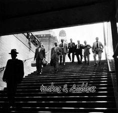 $nakes & xc2xa3adders on Behance.. fresh-formality.tumblr.com #ladders #snakes #& #typography