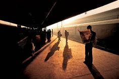 Trains Steve McCurry8 #india #photography #railway