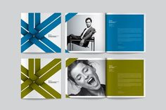 design work life » cataloging inspiration daily #white #black #program #collateral #ribbon #blue #green
