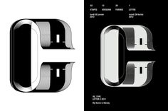 exposition graphistes index-book #letter #typography #black and white