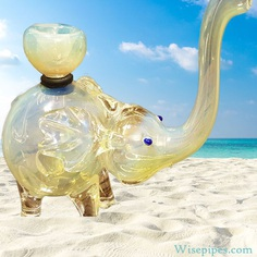 Our wholesale elephant pipes come in several different colors and sizes. Out of all of the glass pipes available today, the elephant is the most prized possession which most customers don't know they want yet.