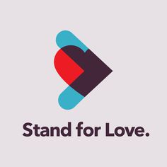 Stand for Love #logo #Identity #mark #cause #graphic #graphicdesign