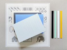 Design*Sponge » Blog Archive » paper weaving set #paper #weaving