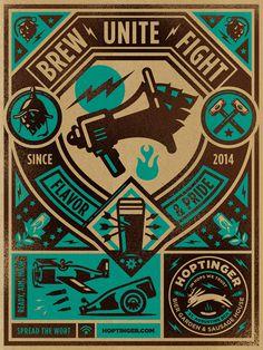 Hoptinger #kidd #illustration #poster #kendrick #hoptinger