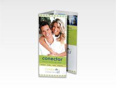 Conexión Inmobiliaria LT -Branding #branding #flyer #trifold #trptico #corporate #identity #folleto #logo #brochure