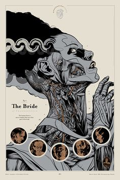 The Bride of Frankenstein : Martin Ansin, Illustrator | Illustration Portfolio