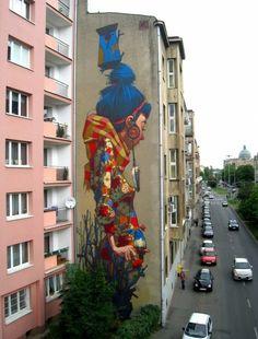 Graffiti / Minha Terra - POLAND #mural