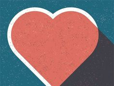 Dribbble - Have a heart. by Northcoast Zeitgeist #heart #overprint