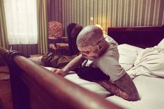 Rick Genest on the Behance Network #rick #photography #genest #portrait
