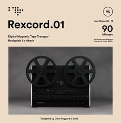 Rexcord.01 #posters #branding #tape #recorded #graphicdesign #swiss #bauhaus