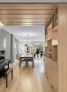 North Toronto House Completely Renovated by Asquith Architects 3, dinning room