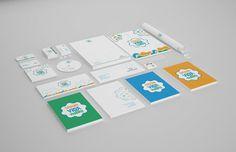 Creche Vida Videira - Visual Identity on Behance #brand #visual #identity