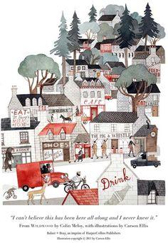 Wyniki Szukania w Grafice Google dla http://25.media.tumblr.com/tumblr_lfa1wmtvbq1qbog54o1_500.jpg #house #carson #wildwood #town #illustration