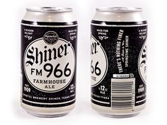 Beer, Can, Packaging, Label