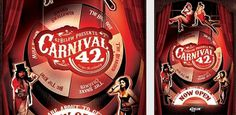 The Carnival 42 Project | Top Design Magazine - Web Design and Digital Content #carnival #poster