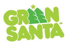 LOVE Green Santa
