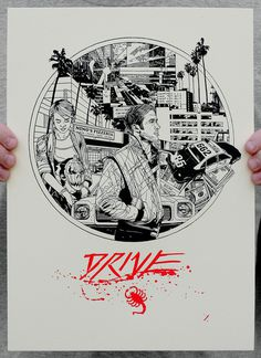 drive_letterpress.jpg (654×900) #drive