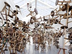 ai weiwei\'s bang installation at venice art biennale 2013