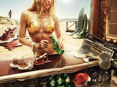 Onestep Creative - The Blog of Josh McDonald » Perrier Ad Campaign #girl #campaign #ad #perrier #bikini