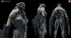 Node Dude 2 by fightpunch on deviantART #robot